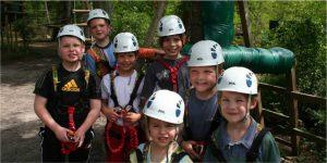 enfants parcours aventure