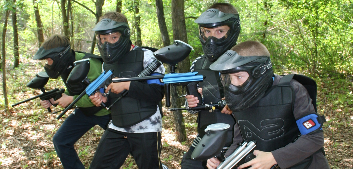 paintball enfant