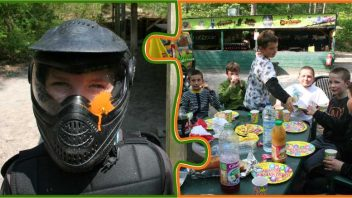 Anniversaire paintball