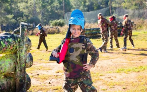 paintball anniversaire